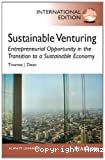 Sustainable venturing