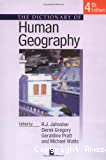 DICTIONARY OF HUMAN GEOGRAPHY (THE)