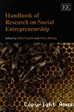 Handbook of research on social entrepreneurship