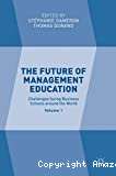 The Future of Management Education
