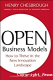 Open business models
