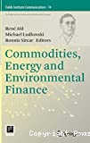 Commodities, energy and environmental finance