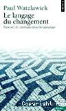 LANGAGE DU CHANGEMENT (LE)