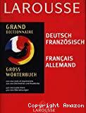 GROSS-WORTERBUCHGrand Dictionnaire Deutsch-Französisch / Français Allemand