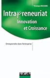 Intrapreneuriat Innovation et croissance