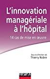 L' innovation managériale à l'hôpital