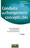 Conduite du changement: concepts clés