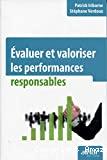 Evaluer et valoriser les performances responsables