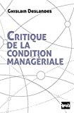 Critique de la condition managériale