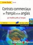 Contrats commerciaux en français et en anglais
