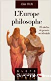 EUROPE PHILOSOPHE (L')