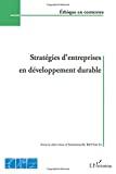 Stratégies d'entreprises en développement durable