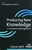 PRODUCING NEW KNOWLEDGE ON INNOVATION MANAGEMENT contribution from the Doctors of the Grenoble Ecole de Management DBA Program