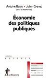 ECONOMIE DES POLITIQUES PUBLIQUES