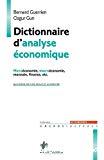 Dictionnaire d'analyse économique