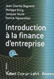 Introduction à la finance d'entreprise