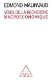 Voies de la recherche macroéconomique