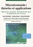 Microéconomie : théories et applications
