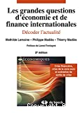 Les grandes questions d'économie et de finance internationales