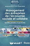 Management des entreprises de l'économie sociale et solidaire
