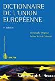 Dictionnaire de l'Union Européenne