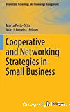 Cooperative and Networking Strategies in Small Business