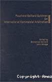 Fouchard, Gaillard, Goldman on international commercial arbitration