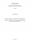 Diversity, Difference and Diversity management