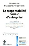 La responsabilité sociale d'entreprise
