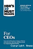 HBR's 10 must reads for CEOs