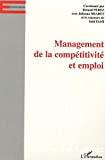 Management de la compétitivité et emploi