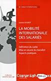 La mobilité internationale des salariés