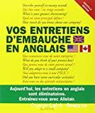 Vos entretiens d'embauche en anglais