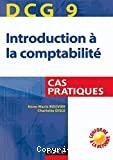 DCG 9 Introduction à la comptabilité