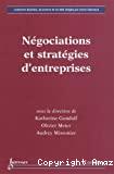 Négociations et stratégies d'entreprises
