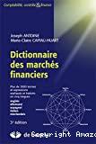Dictionnaire des marchés financiers