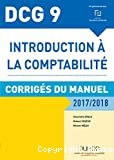 DCG 9 - Introduction à la comptabilité