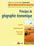 PRINCIPES DE GEOGRAPHIE ECONOMIQUE