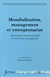 Mondialisation, management et entrepreneuriat