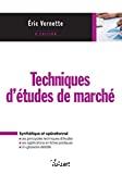 Techniques d'études de marché