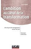 L'ambition au coeur de la transformation