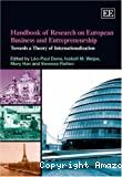 Handbook of research on European business and entrepreneurship