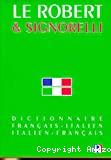 ROBERT & SIGNORELLI DICTIONNAIRE FRANCAIS-ITALIEN (LE)