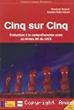 CINQ SUR CINQ + CD Evaluation à la compréhension orale au niveau B2 du CECR