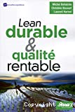 Lean durable & qualité rentable