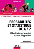 Probabilités et statistique de A à Z