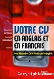 Votre CV en anglais et en français