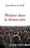 Malaise dans la démocratie