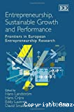 Entrepreneurship , sustainable growth and performance