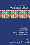 The Sage handbook of marketing ethics